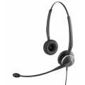Гарнитура Jabra GN2100 Duo Flex Boom, For hearing-aid wearers, NC, QD (2127-80-54)