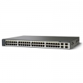 WS-C3750V2-48TS-E | Коммутатор Cisco Catalyst 3750V2 48 10/100 + 4 SFP Enhanced Image