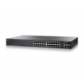 Коммутатор Cisco SG200-26P (SLM2024PT)